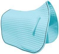 Baby Blue Dressage Saddle Pad