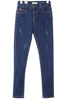 New Trending Denim: xiaoming Womens Casual Jeans Juniors Comfy Stretch Skinny Jean Pant Blue. xiaoming Women's Casual Jeans Juniors Comfy Stretch Skinny Jean Pant Blue  Special Offer: $25.99  344 Reviews Size information: 26:Length:38.58 inch/98cm.Waist:24.41 inch/62cm.Hip:32.28 inch/82cm. === 27:Length:38.98 inch/99cm.Waist:25.98 inch/66cm.Hip:33.07 inch/84cm. ===...