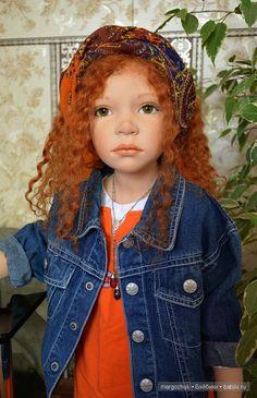 Красотка Арина меняет наряды. Кукла Zawieruszynski / Коллекционные куклы Zawieruszynski, Заверужински / Бэйбики. Куклы фото. Одежда для кукол