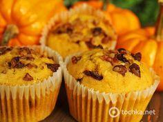 Pumpkin muffins with orange and lemon Pumpkin Muffin Recipes, Pumpkin Spice Muffins, Pumpkin Cupcakes, Spiced Pumpkin, Frosting Recipes, Dessert Recipes, Desserts, Mocha Frosting, Mocha Cake