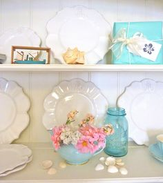 pretty accessories for a beach house