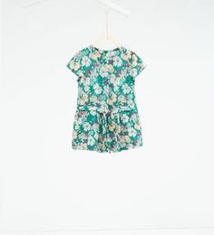 Jumpsuit with bow-BABY GIRL | 3 months-4 years-NEW IN | ZARA Hungary