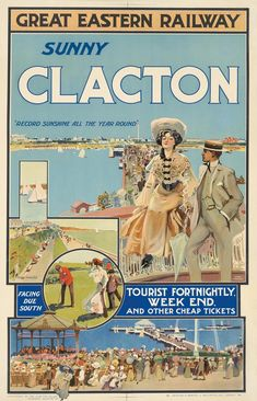 Retro Poster, All Poster, Vintage Beach Posters, Butlins, Visit Britain, British Travel, Old Adage, Railway Posters, Vintage Luggage