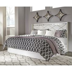 Signature Design by Ashley Dreamur Champagne Panel Bed