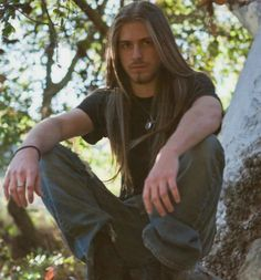 Hairstyles For Guys With Really Long Hair Hair And Beard Styles, Curly Hair Styles, Dudes With Long Hair, Viking Men, Really Long Hair, Boys Long Hairstyles, Long Locks, Mi Long, Gorgeous Men