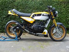 Yamaha RZ350 - would have killed for one of these when I was 18!!