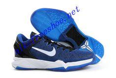 premium selection e31d3 66a5e Nike Zoom Kobe VII Colorways Royal Blue Black White 488371 400 Kobe 7  Shoes, Kobe
