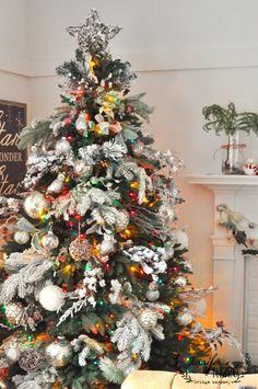 jennifer rizzo | farmhouse holiday living room