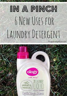 6 New {Creative} Uses for Ology Laundry Detergent #shop #WalgreensOlogy