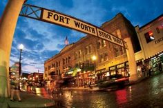The Ft Worth stock yards are one of my favorite historical landmarks in Texas to visit, never gets old.