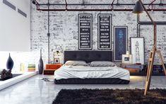 #Dormitorios de estilo industrial