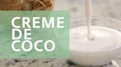 Como fazer - Creme de Coco