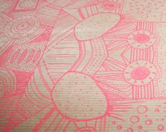 PATTERN WRAPPING PAPER (bundle of 5) - Folksy