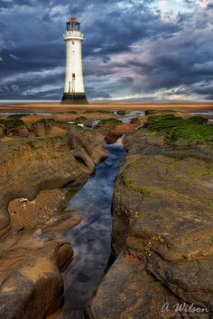 The Lighthouse at Perch Rock in New Brighton.