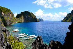 Palawan is a slice of heaven, a sliver of an island that teems with exotic wildlife, quaint fishing villages, and UNESCO World Heritage Sites. (Best Island in Asia – 2014 Travelers' Choice Awards - TripAdvisor)