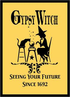 Yankee Stencil Co. offers an on-line Custom Stencil Designer and variety of pre-made stencils! Halloween Signs, Halloween Crafts, Halloween Table, Halloween Halloween, Vintage Halloween, Halloween Makeup, Halloween Costumes, Witch Decor, Witch Art
