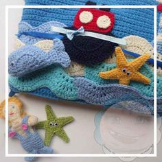 FREE Patern Under The Sea Crochet Playbook|Creative Crochet Workshop