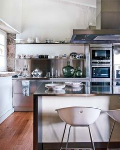 SANTOS kitchen | Acero model in Galicia