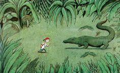 Petr Sís: z knihy Komodo! HarperCollins, 1993