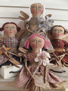 Cloth Doll Patterns by Karen Nieforth