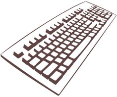 Clipart - Keyboard