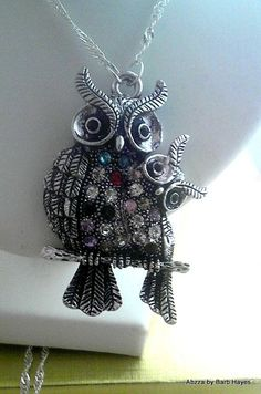 'Friendship - Owl necklace' is going up for auction at  5pm Sun, Apr 7 with a starting bid of $5.