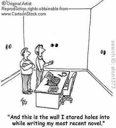 How a writer should explain the presence of holes in the walls of his/her home. #writing #humor