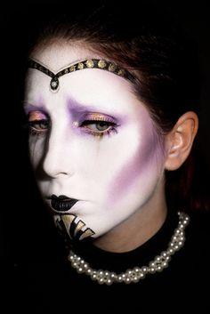 Sadness - Model&Makeup: Margherita Leva Ph: Khalil Emede Models Makeup, Sadness, Septum Ring, Ph, Halloween Face Makeup, Rings, Jewelry, Jewlery, Jewerly