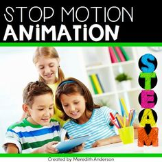 Use stop motion animation in your makerspace STEM lab or in your own classroom! Why not take something students love doing and integrate it into another subject area such as history or literacy? This resource guides you through basic set up of a stop m Stop Motion, Motion App, Science Activities For Kids, Steam Activities, Learning Activities, Teaching Ideas, Basic Software, Stem Classes, Stem Projects