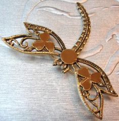 Dragonfly Gold Pendant
