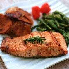 """Cardamom Maple Salmon 