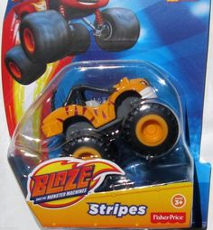 Nickelodeon Blaze and The Monster Machines Die-Cast Stripes BNIP Fisher-Price Blaze The Monster Machine, Spongebob Square, Marvel Legends Series, Phineas And Ferb, Dora The Explorer, 1st Boy Birthday, Camden, Fisher Price, Kids And Parenting