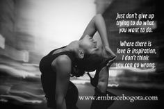 embracebogota | Inspirational Embraces #EllaFitzgerald #Love #Grit