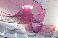 escapade: Floating in colour: Janet Echelman