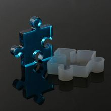 1PC DIY Silicone Resin Casting Pendant Mold Puzzle Mould Handmade Making Jewelry Craft Tool Accessories(China (Mainland))
