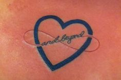 infinity and beyond tattoos | Tattoo number 4 BFF tat...I love you to infinity and beyond |