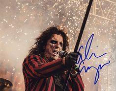 Alice Cooper - Classic American Rock Icon - Authentic Autographed 8x10 Photo JG Autographs, Inc. http://www.amazon.com/dp/B016N7EDG0/ref=cm_sw_r_pi_dp_-fnzwb1G591D6