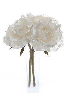 Artificial Vintage Rose Bundle