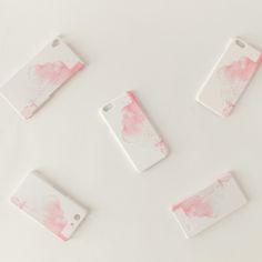 iPhone/Galaxy/Xperia Case「赤い、雲」