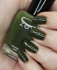 Zoya Nail Polish in Mel from the Luscious Collection  Swatches Zoya Nail Polish, Let It Shine, Green Makeup, First Blog Post, Nice Nails, Beauty Review, Cool Tones, Holiday Nails, Swatch