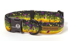 Eco Trout  |  Yah, her trout collar in a different material and a quick release!