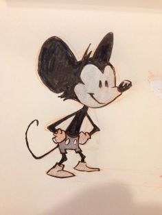 Mickey Mouse by Jake Parker (@Jake Donohoe Parker)