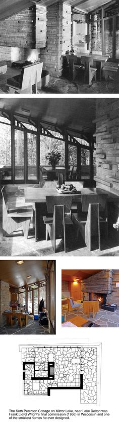 Seth Peterson Cottage, Frank Lloyd Wright (1958)