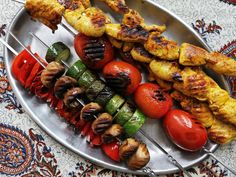 Test kitchen director Farideh Sadeghin learned to make these simple grilled kebabs from her dad.