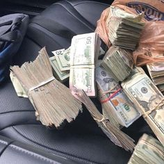 Time is like a river . You cannot touch the same water twice because the flow that has passed will never pass. Mo Money, How To Get Money, Cash Money, Money On My Mind, Money Today, Gangster Girl, Rich Lifestyle, Luxury Lifestyle, Money Stacks