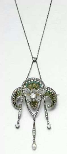 Art Nouveau Necklace ca.1905-1910