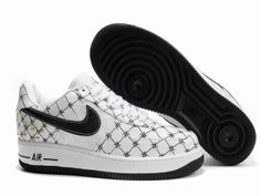 reputable site 8c953 e4c64 Nike Air Force 1 Un Michael Lau White Black Sneakers