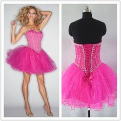 red homecoming dresses/party dresses/cocktail dresses