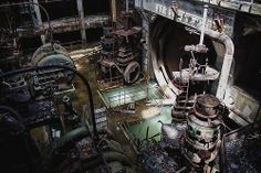 abandoned power plant. Not sure from where?