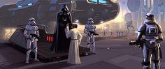 Christian Piccolo Concept Design Featured Star Wars Sketches